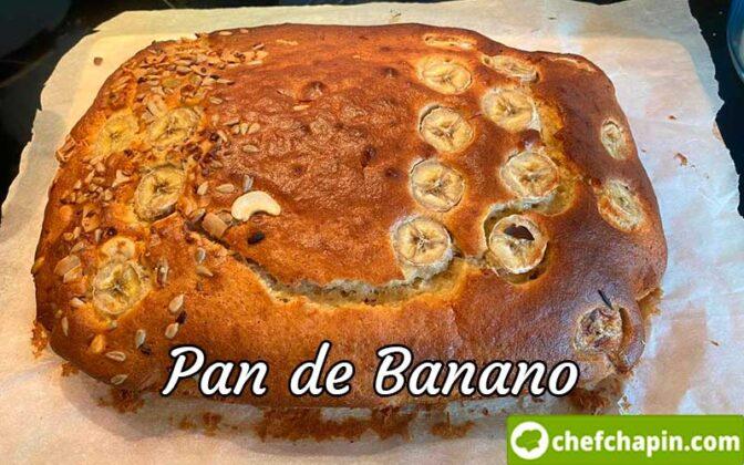 Pan de banano guatemalteco