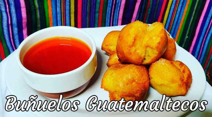 Receta de Bueñuelos Guatemaltecos