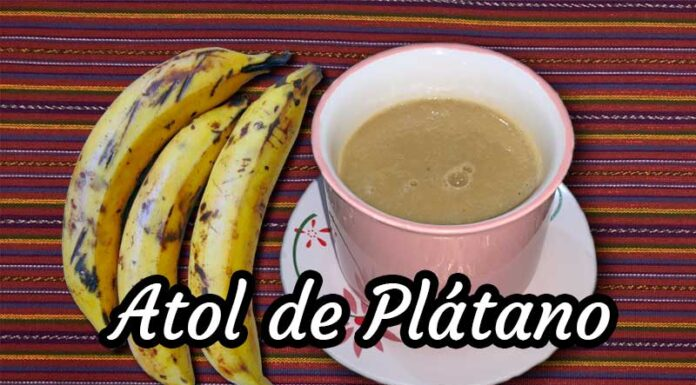 Atol-de-plátano-guatemalteco